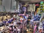 A Corner of dads Garage